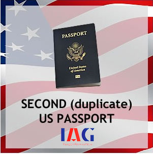 second duplicate us passport
